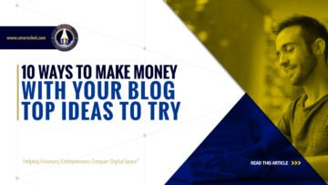 10 Ways To Make Money With Your Blog - Top Ideas to Try - SME Rocket - eCommerce Solutions for Visionary Entrepreneurs