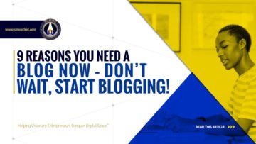 9 Reasons You Need a Blog Now - Don't Wait, Start Blogging! - SME Rocket - eCommerce Solutions for Visionary Entrepreneurs