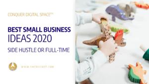 63 Best Small Business Ideas 2020 – Side Hustle or Full-Time - SME Rocket Digital Business Accelerator