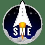 SME Rocket Logo 2020 Blue