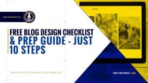 FREE Blog Design Checklist & Prep Guide - Just 10 Steps - SME Rocket - eCommerce Solutions for Visionary Entrepreneurs