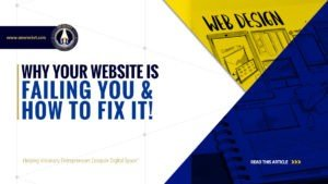WhWhy Your Website is Failing You & How to Fix it! - SME Rocket - eCommerce Solutions for Visionary Entrepreneurs