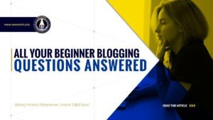 All Your Beginner Blogging Questions Answered - SME Rocket - eCommerce Solutions for Visionary Entrepreneurs