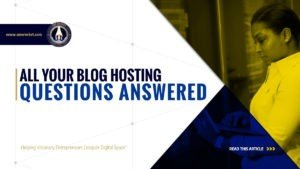 All Your Blog Hosting Questions Answered - SME Rocket - eCommerce Solutions for Visionary Entrepreneurs