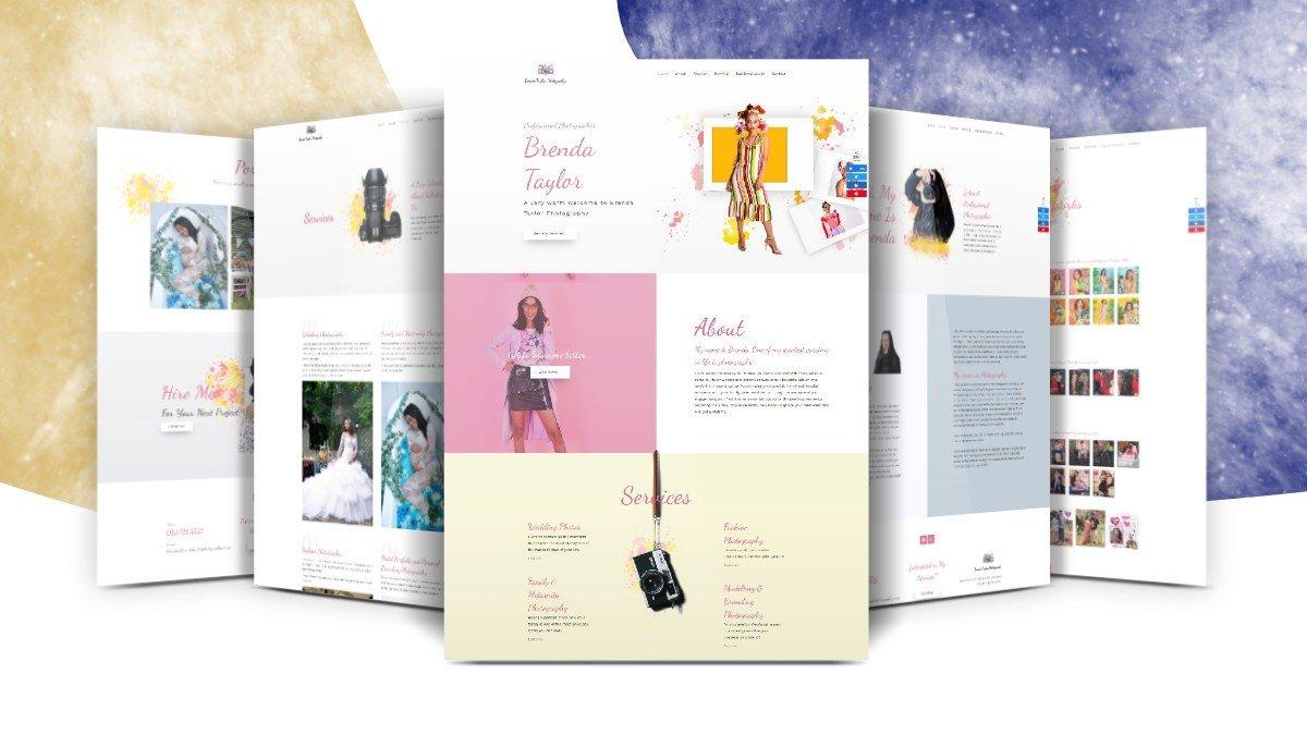 Brenda Taylor Photography Website Design Project - SME Rocket