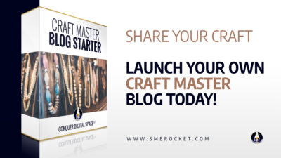 Craft Master Blog Starter - Blog Design for Crafters - SME Rocket
