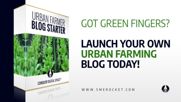 Urban Farmer Blog Starter - Blog Design for Urban Farming Bloggers - SME Rocket