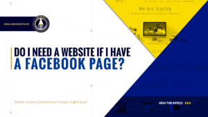Do I Need a Website if I have a Facebook Page? - SME Rocket - eCommerce Solutions for Visionary Entrepreneurs